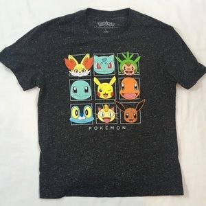 Mens Large Pokemon Character Graphic Tee Shirt